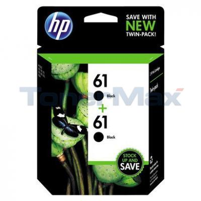 HP 61 INK BLACK TWIN PACK
